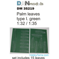 Palm leaves type #1, Green