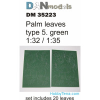 Palm leaves type #5, Green
