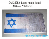 Display stand. Israel theme, 370x190mm