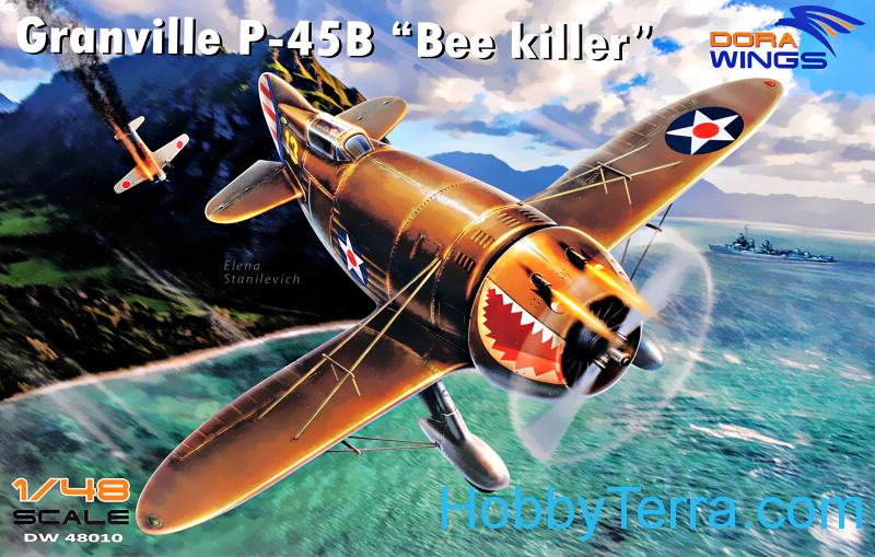 "Dora Wings  48010 Granville P-45B ""Bee Killer"""
