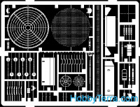 Photo-etched set 1/35 Leopard 2A5, for Tamiya kit
