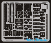 Eduard  53037 Photo-etched set 1/350  I-400, for Tamiya kit