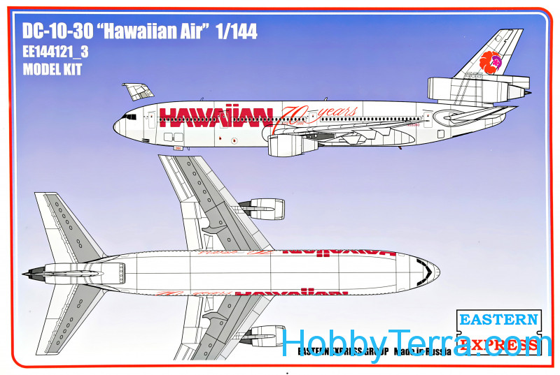 "Eastern Express  144121-03 DC-10-30 ""Hawaiian Air"""