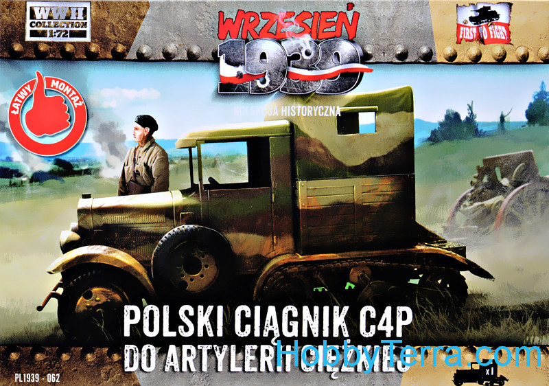 First To Fight  062 C4P Polish Heavy Artillery Tractor