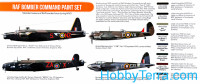 Hataka  CS102 Set of paints. RAF Bomber Command, 8 pcs