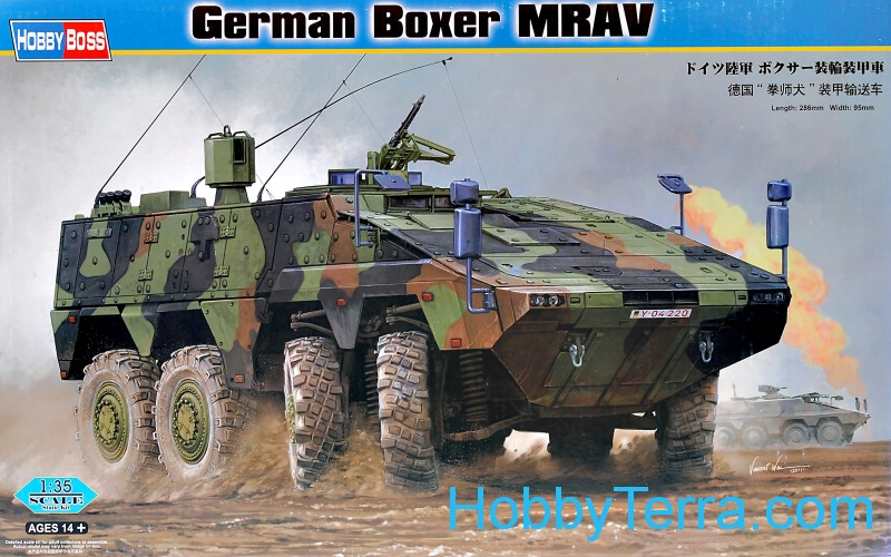 Hobby Boss  82480 German Boxer MRAV