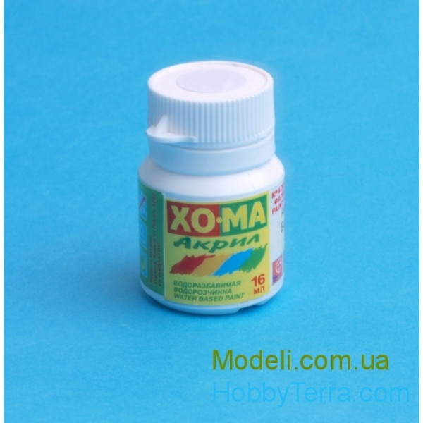 Homa  208 Blue acrylic varnish 16ml
