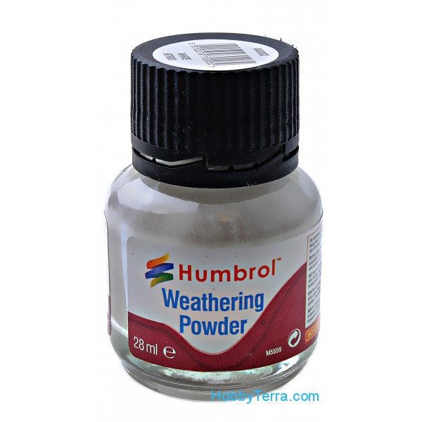"Humbrol  AV002 Weathering powder ""Humbrol"" white, 28ml"