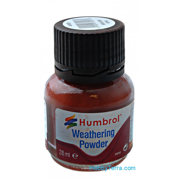 "Humbrol  AV006 Weathering powder ""Humbrol"" iron oxide, 28ml"