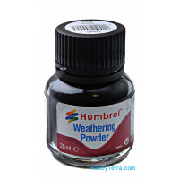 "Weathering powder ""Humbrol"" black, 28ml"