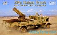 """3Ro"" Italian Truck with 100 mm 100/17 Howitzer"