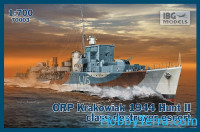 ORP Krakowiak destroyer, 1944