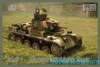 Toldi I Hungarian light tank