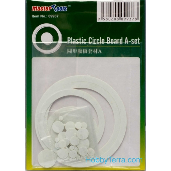 Master Tools  09937 Plastic circle board A-set