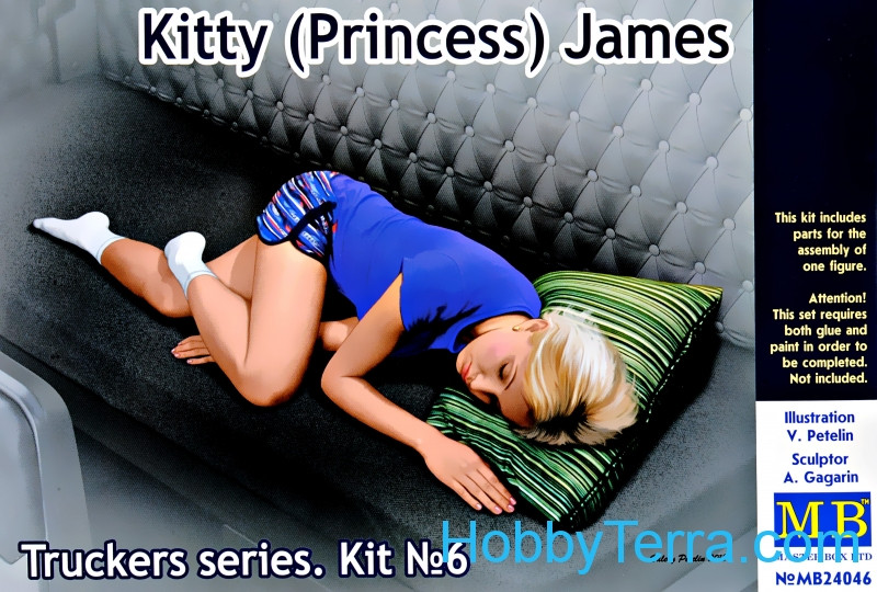 Master Box  24046 Truckers series. Kitty (Princess) James