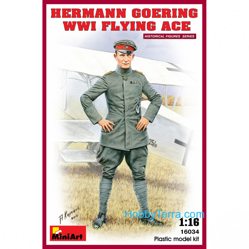 Miniart  16034 Hermann Goering. WWI Flying Ace