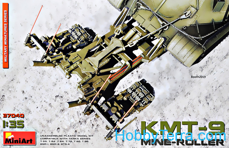 Miniart  37040 Mine-Roller KMT-9