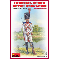 Imperial guard Dutch grenadier. Napoleonic Wars.