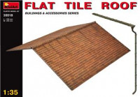 Flat tile roof (made of Plastic)