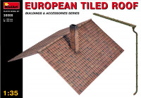 European Tiled Roof (made of Plastic)