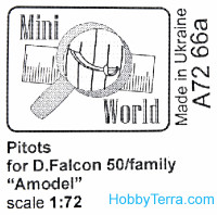 Antenns for D.Falcon 50 family, for Amodel 72293,72307 kits