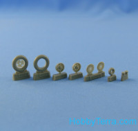 "Wheels set 1/48 Bf.109 E-1-E-3 (""Continental"" tires)"