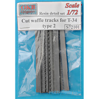 Cut waffle tracks for T-34, type 2