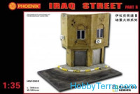 For dioramas. Iraq street, part B