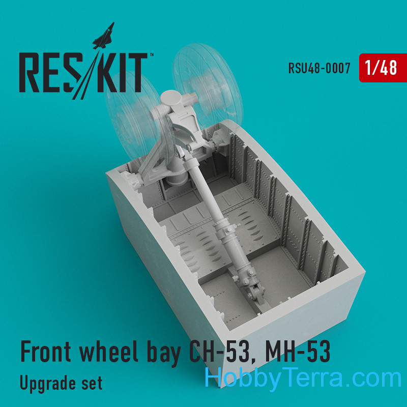 RESKIT  48-0007 Upgrade Set Front Wheel Bay CH-53, MH-53