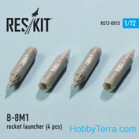 RESKIT  72-0013 Rocket Launcher B-8M1 (2 pcs)