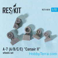 Wheels set 1/72 for A-7 (A/B/C) Corsar II