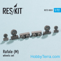 RESKIT  72-0033 Wheels set 1/72 for Rafale (M)