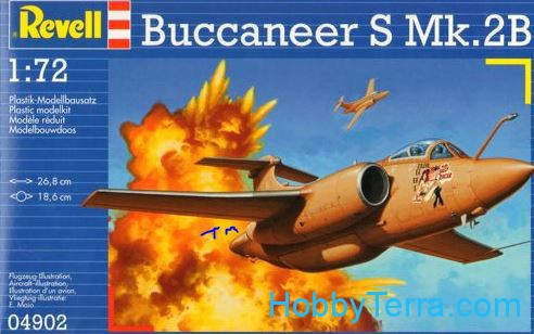 Revell  04902 Buccaneer S Mk.2B attack aircraft