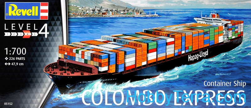 Revell  05152 Container Ship 'Colombo Express'