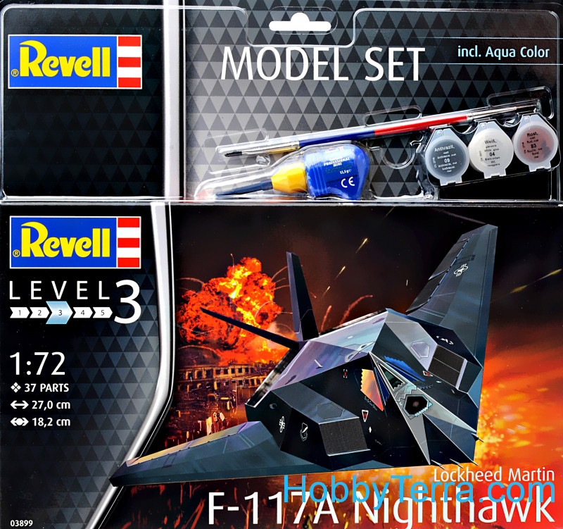 "Revell  63899 Model set - Fighter F-117 ""Nighthawk"""