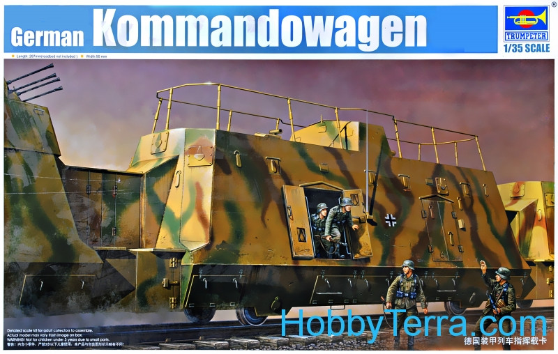 Trumpeter  01510 German Kommandowagen