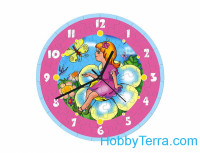 "Puzzle-clock ""Thumbelina"", paper model"