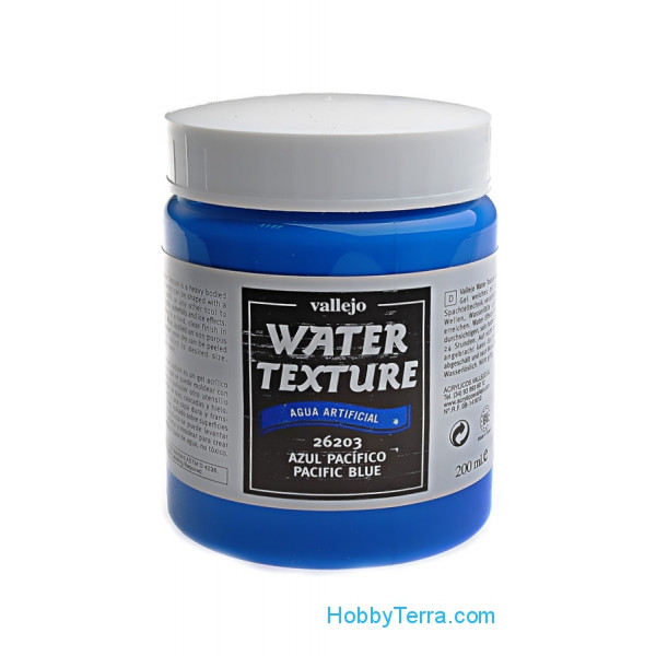 Vallejo  26203 Water Effects 200ml. 203-Pacific