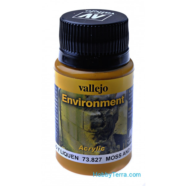 Vallejo  73827 Environment. Moss and Lichen effect, 40ml