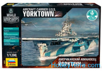"U.S. Aircraft carrier ""Yorktown"""